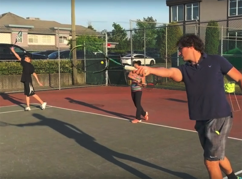 Group Tennis Lessons