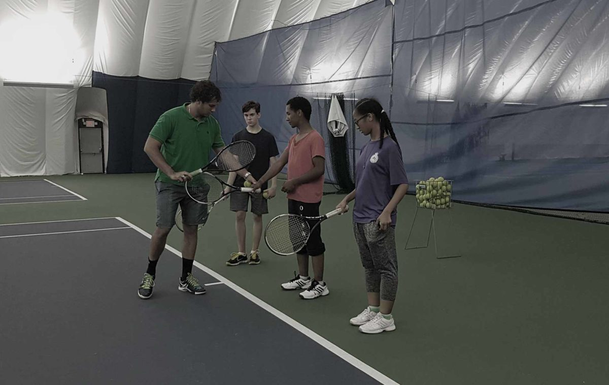 tennis lessons feature